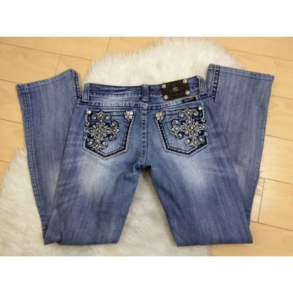 Miss Me Denim - Miss Me Boot Cut Embellished Jeans